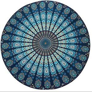 Boho mandala tablecloth 💙
